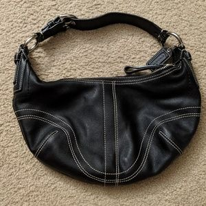 COACH Small Leather Hobo No. H0620-10030